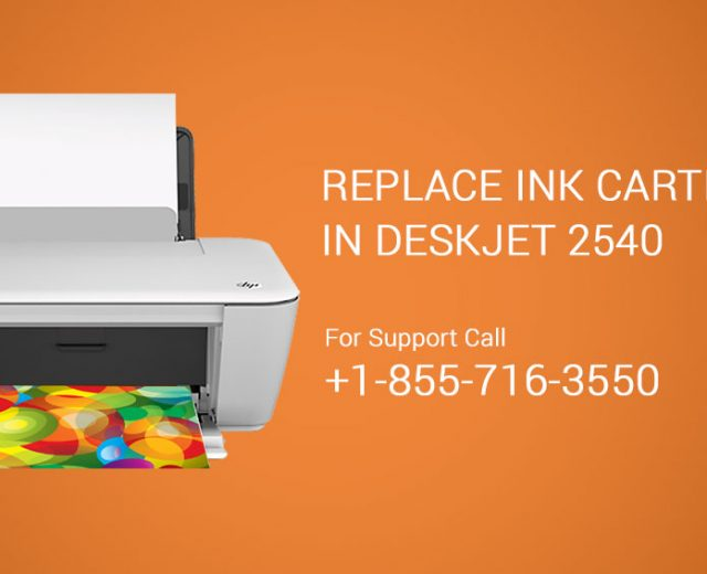 Replace Ink Cartridges DeskJet 2540