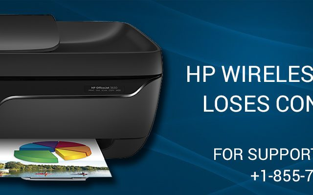 hp wireless printer loses connection