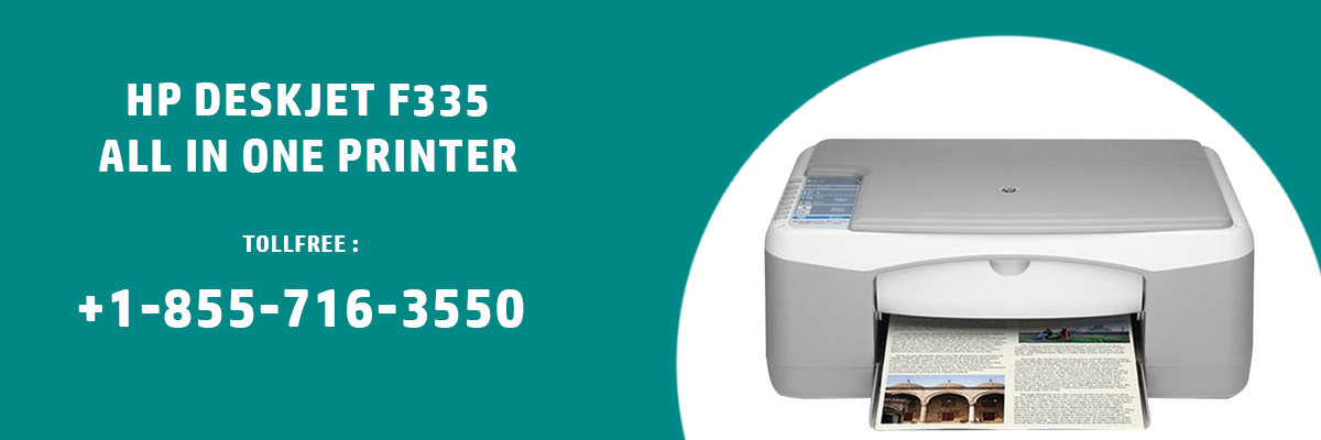 Install HP DeskJet F335 all in One Printer