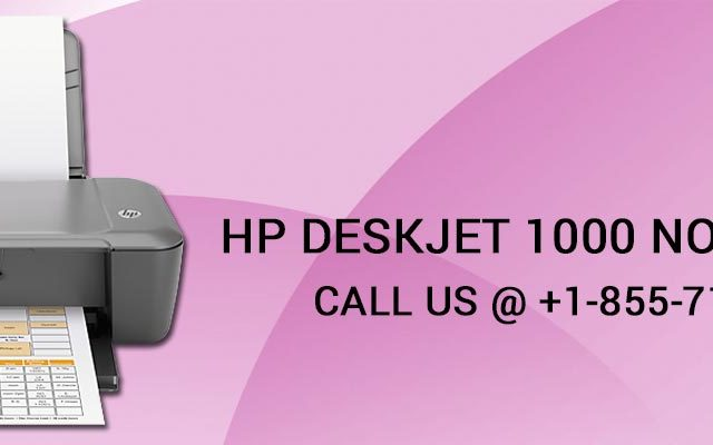 HP DeskJet 1000 not Printing