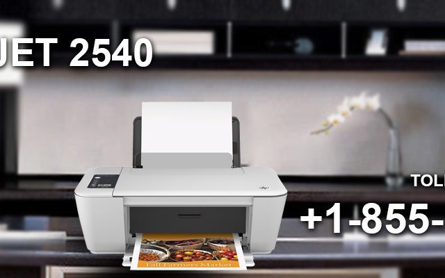HP DeskJet 2540 not printing black ink