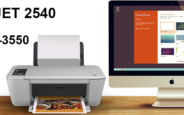HP Deskjet 2540 Wireless Setup MAC