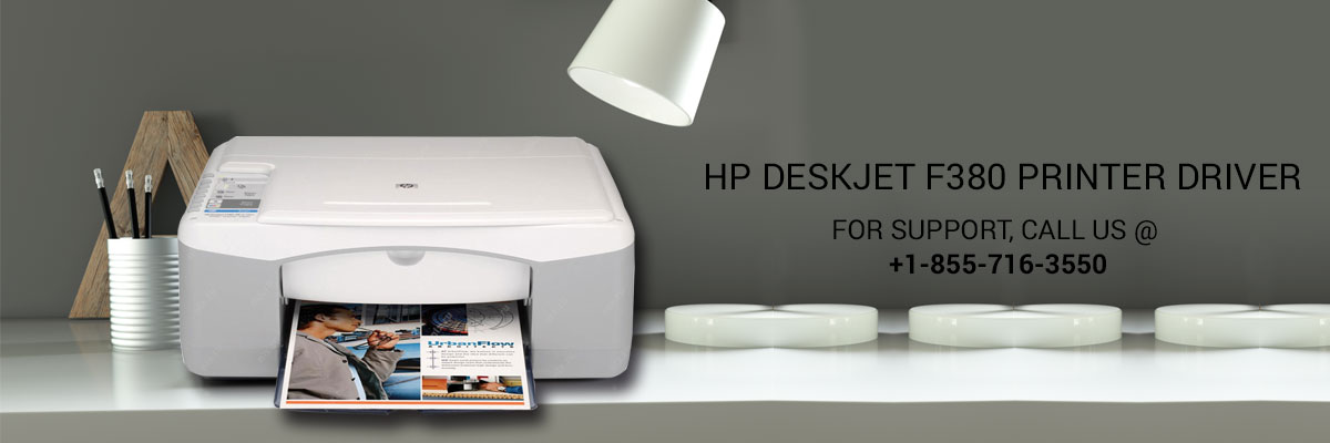HP DeskJet f380 printer driver