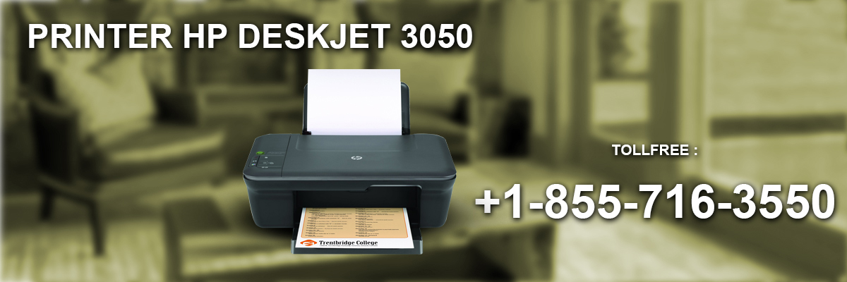 install printer HP DeskJet 3050