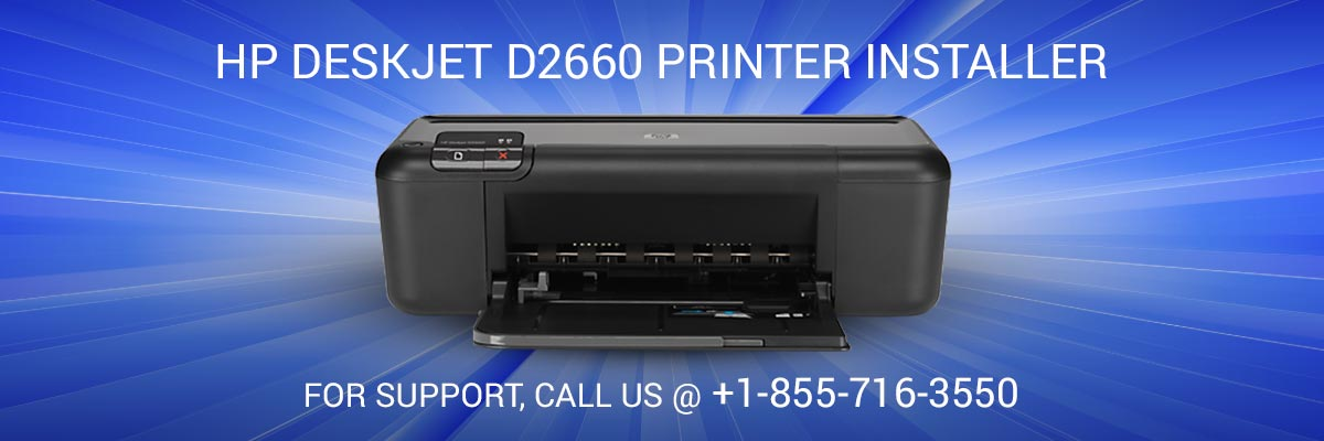 HP DeskJet d2660 printer installer