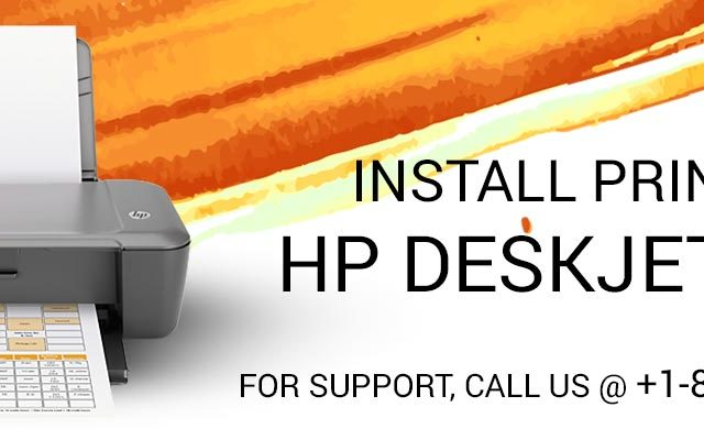 Install Printer HP Deskjet 1000