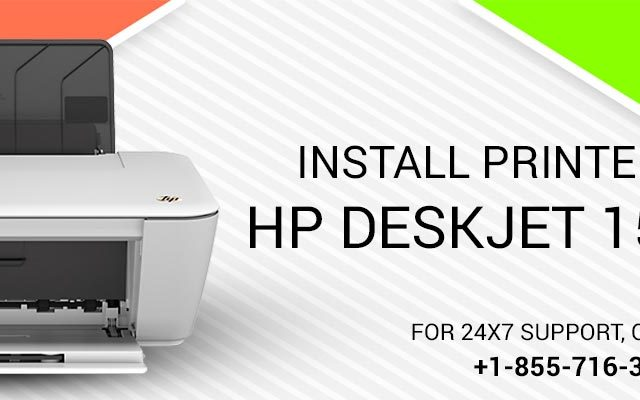Install Printer HP Deskjet 1515