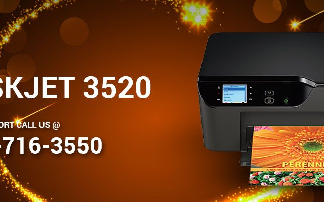 Install HP DeskJet 3520 Printer