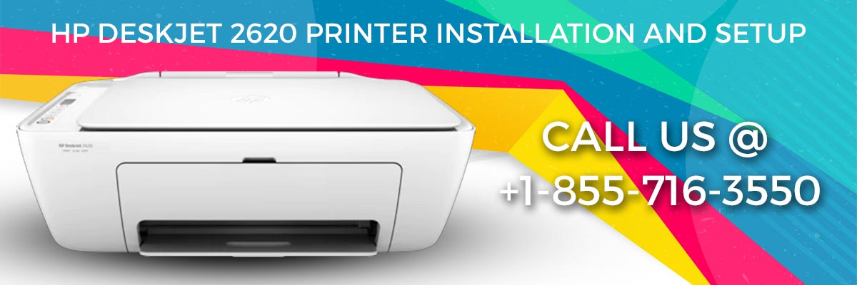 HP DeskJet 2620 printer installation and setup