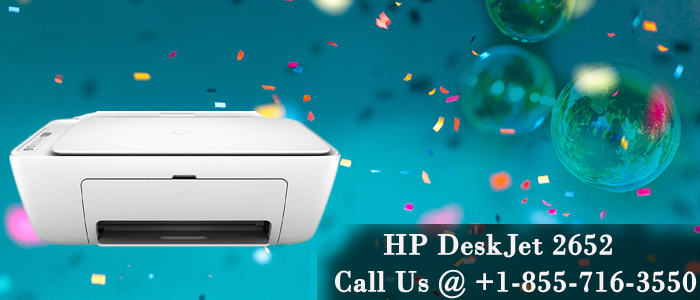 HP DeskJet 2652 Printer
